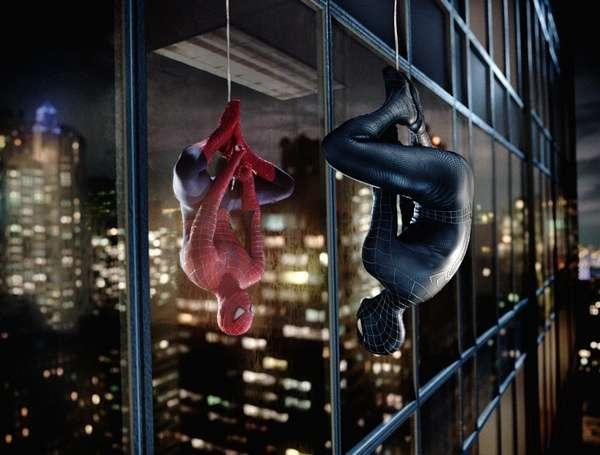 《蜘蛛侠3》片段 决斗