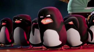 送宝特攻队对决企鹅保镖