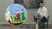 刘德华演唱会首邀妻女到场 大方展示女儿画作