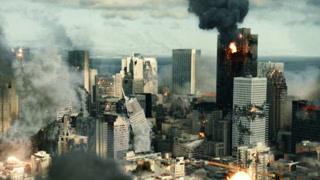 地震灾难中的城市