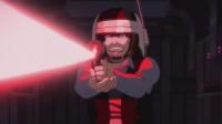 银河大冒险 黑暗面的力量:红色光剑亮起,达斯维达现身