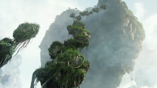 潘多拉的树竟然朝天上长着 神奇!