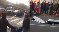 【河北】石家庄奥迪撞人监控曝光 原因系司机犯癫痫