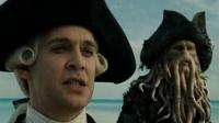 加勒比海盗3:世界的尽头 预告片(高清) 杰克船长船头撩女神