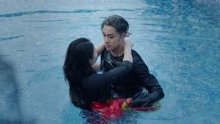 一言不合就吻戏,徐冬冬黄浩然水中拥吻太刺激!