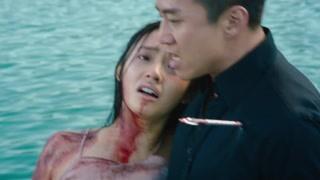 刘轩送珊珊回到大海 若兰对刘轩疯狂开枪