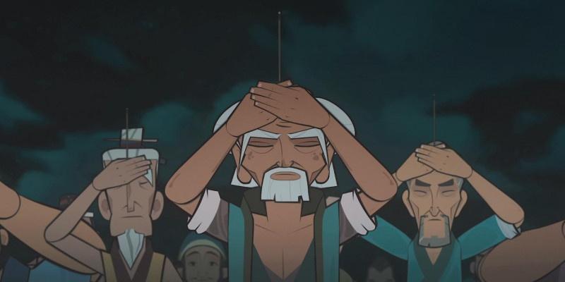 《江海渔童》定档预告  剪纸动画再现大银幕