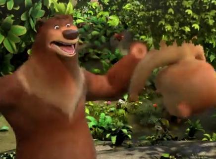 《嘻哈英熊》先导预告 熊爸上演极限营救