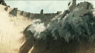 末日崩塌(片段)大坝瞬间崩塌