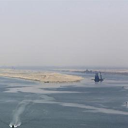苏伊士运河南段开始拓宽 预计两年内完成