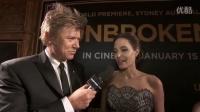 《坚不可摧》首映式 安吉丽娜朱莉接受采访