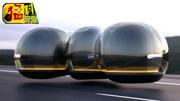 未来百年后汽车的样子!设计大胆超前,各种黑科技!