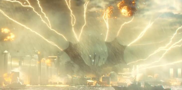 """《哥斯拉2:怪兽之王》""""最?#20811;薜小?#29256;预告片"""