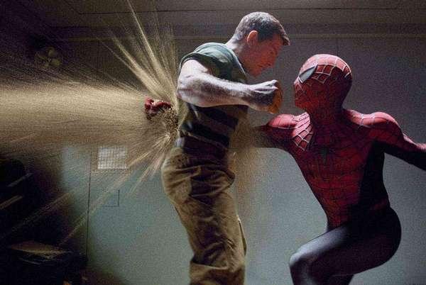 《蜘蛛侠3》片段 酒吧争斗