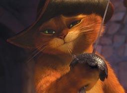 《穿靴子的猫》中文片段 臭屁猫遭女侠逗弄羞辱