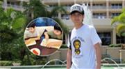 林志颖晒儿子做美食照片