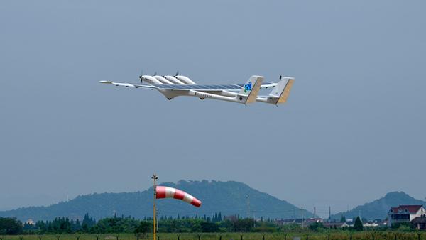 上海新型太陽能飛機:8小時日照可夜航12小時