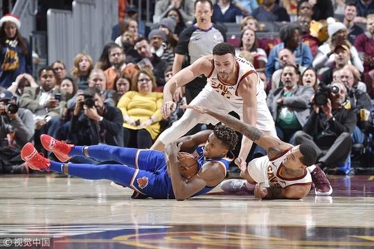[NBA常规赛]尼克斯106-113骑士