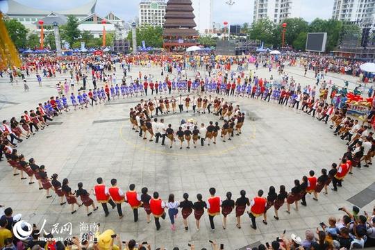 2018年海南七仙温泉嬉水节在保亭浓情开幕
