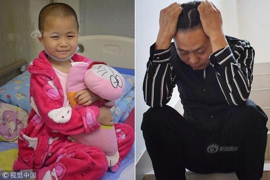 西安:擦鞋送外卖做服务员 癌症女童父亲一天睡四小时挣钱救女