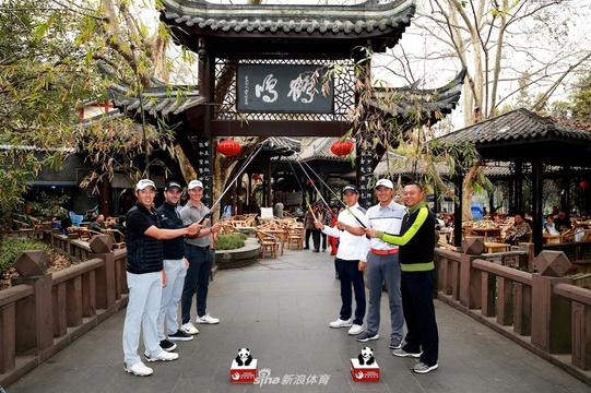 美巡赛-中国成都锦标赛开幕照