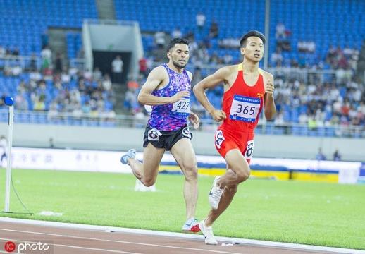 田徑世錦賽選拔賽男子800米賽況