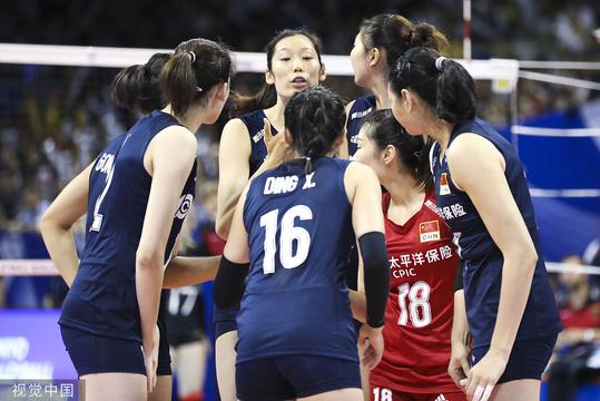 奧預賽中國女排3-1德國 隊長朱婷掌控全場