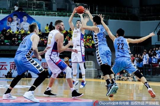 CBA第19轮:天津VS北京