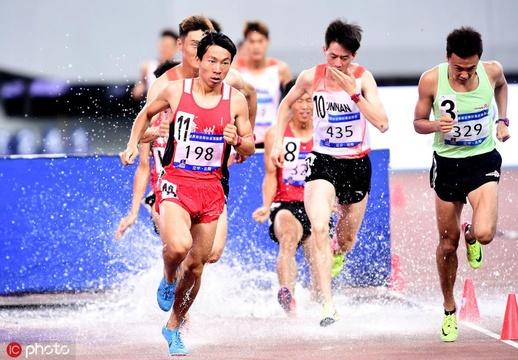 世錦賽選拔賽男子3000米障礙賽洛淳奪冠