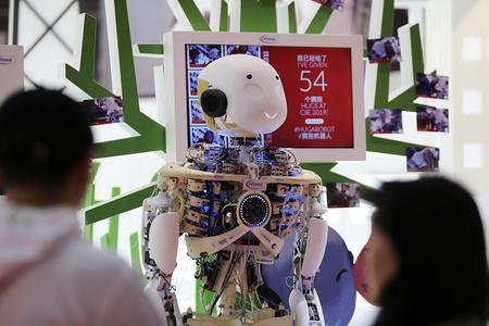 探营第二届进博会 各类新科技产品亮相