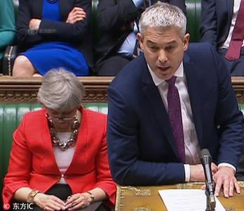 英国脱欧协议草案被下议院否决 首相特蕾莎-梅竟然睡着了