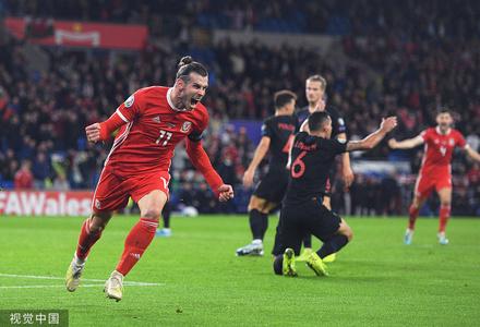欧预赛:威尔士1-1克罗地亚