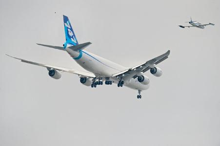 波音747-8货机 空中女皇如何继续传奇