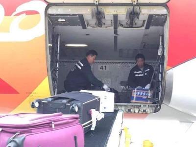 【新春走基层】武汉天河机场机坪装卸员春运镜头