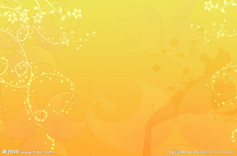 黄色背景图片图片