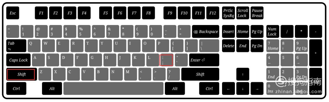 键盘上冒号怎么打出来 值得收藏