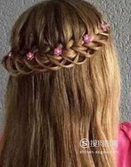 儿童的发型扎法 小女孩