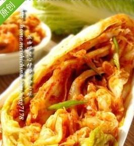 韩国泡菜自己做—白菜泡菜,你值得一看的技巧