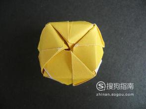 手工折纸:玫瑰花的折法