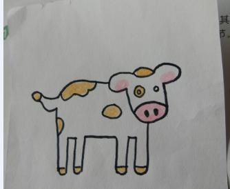 亲子绘画:小牛怎么画? 来充电吧