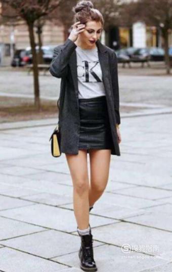 马丁靴如何搭配衣服