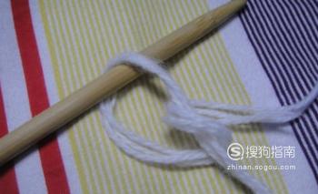 围巾的起针方法 你需要
