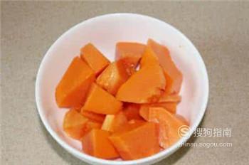 丰胸木瓜汤的做法?,