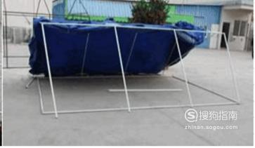 救灾帐篷的搭建方法