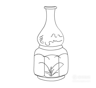 线描画《花瓶》的几种画法 来看看吧