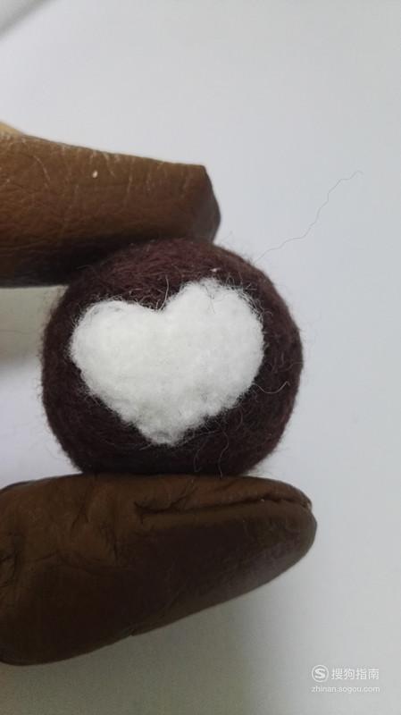 羊毛毡爱心巧克力蛋糕制作方法 来研究下吧