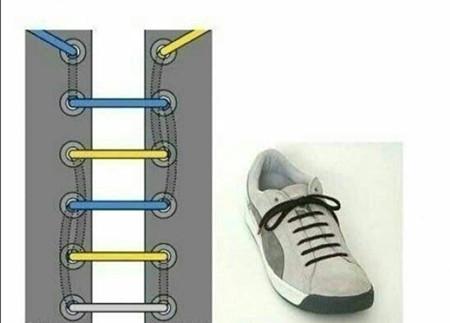 怎样系出漂亮鞋带 详细始末