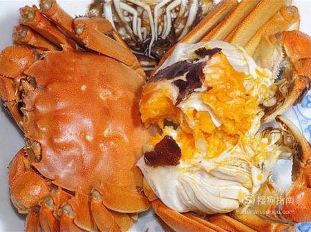 原味大闸蟹的做法 看完就知道了