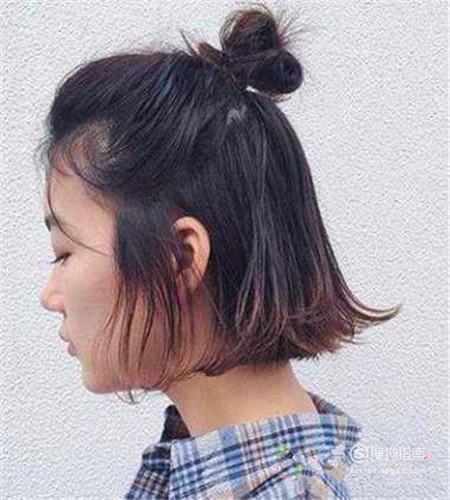 漂亮发型之尴尬刘海编法,夏天发型不怕热~