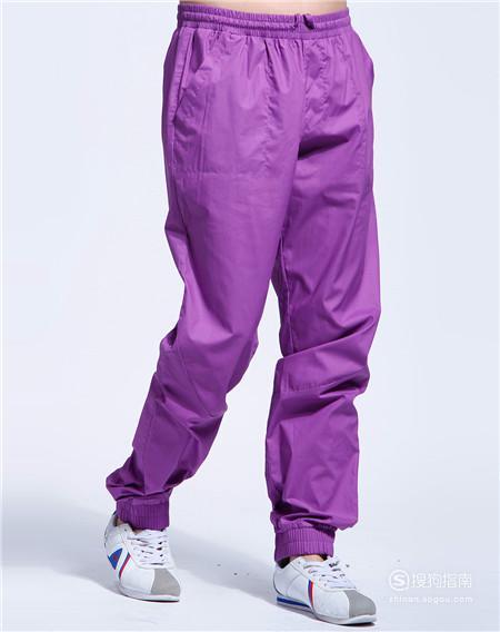 紫色裤子配什么颜色上